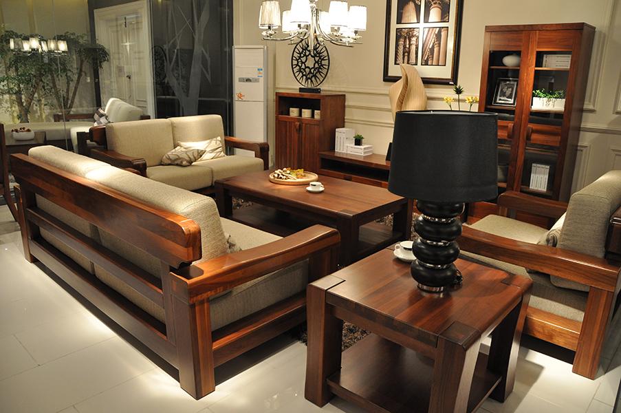 s312沙发 - 柏森实木家具-1f-产品中心 - 安阳市文峰